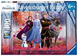 Ravensburger 12867 Disney Frozen 2 - Magic of The Forest - 100 Piece Jigsaw Puzzle for Kids - Every Piece is Unique - Pieces Fit Together Perfectly, Multi