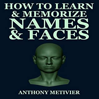 How to Learn & Memorize Names & Faces audiobook cover art