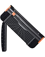 SKEIDO A4 Paper Cutter 12 Inch Titanium Paper Trimmer Scrapbooking Tool with Automatic Security Safeguard and Side Ruler for Craft Paper, Coupon, Label and Cardstock