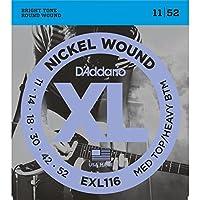 D'Addario/ダダリオ EXL116×5セット エレキギター弦 Medium Heavy [11-52]