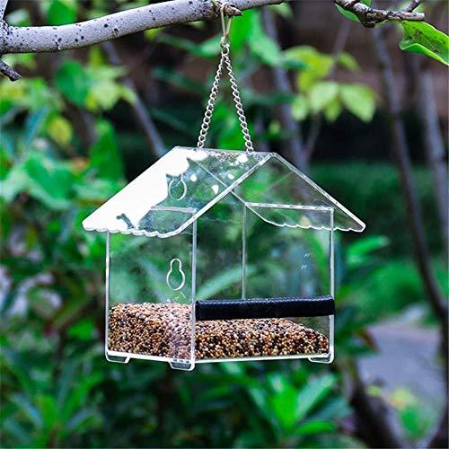 hängende Vogelhäuschen Hausform