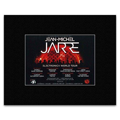 Mini-Poster, Jean-Michel Jarre Electronica World Tour 2016, 30,3 x 25,4 cm
