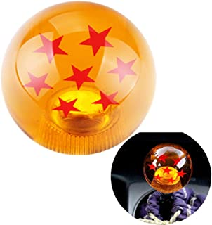Dewhel Universal Dragon ball Z Star Manual Stick Shift Knob with M16 x 1.5 Insert 7 Star 5 6 Speed Short Throw Shifter Lever For 1982-2002 Chevrolet Camaro Pontiac Firebird