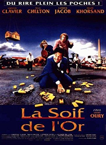La Soif De L'Or - 116X158Cm Affiche Cinema Originale