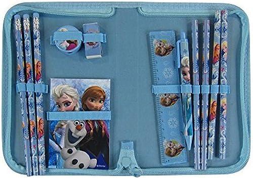 venta con alto descuento Officially Licensed 12 Piece Stationery Set in in in Zip Around Case - Elsa by Mirage  deportes calientes