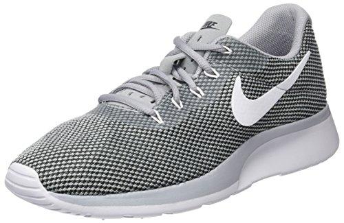 Nike Herren Tanjun Racer Laufschuhe, Grau (Wolf Grey/White-Black), 42.5 EU