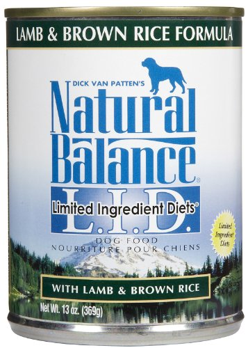 Natural Balance Limited Ingredients Diets Lamb & Brown Rice