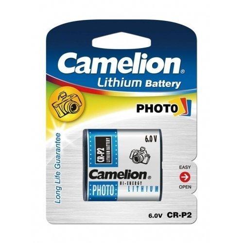 Camelion Pila Fotográfica CR-P2 Blister 1Ud, 6V, Lithium