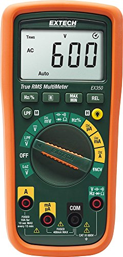 Extech EX350 True RMS Professional MultiMeter with NCV
