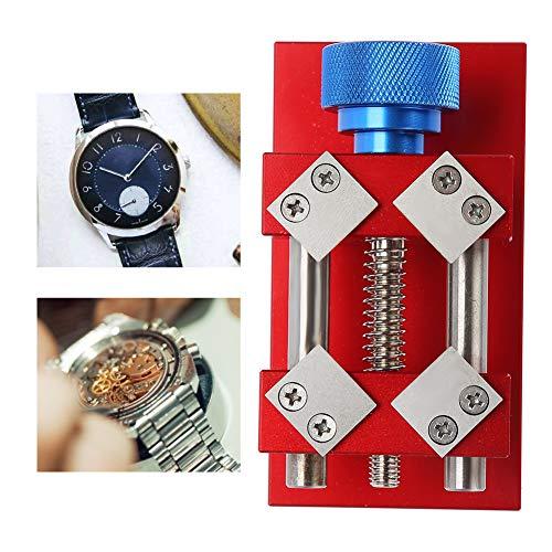 Uhrenlünettenöffner, professionelles Werkzeug zum Entfernen von roten Uhrenlünetten, Werkzeug zum Entfernen von Werkbank-Lünettenringen, Uhrmacherwerkzeug für den Durchmesser der Uhrenlünette