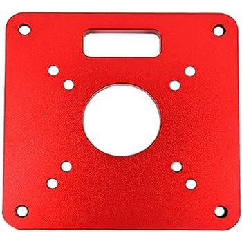 Rockler Routeur plaque insert 4pk 4pk 480438