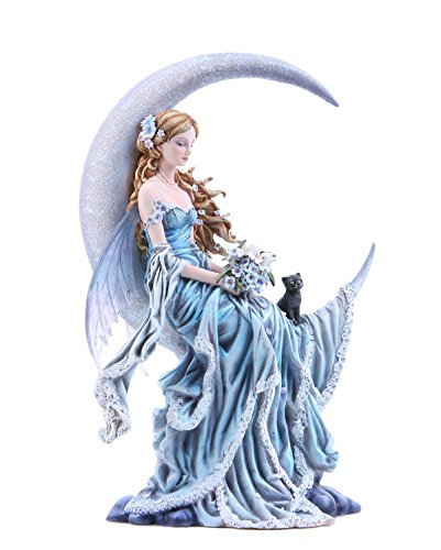 Pacific Giftware Four Elements Celestial Moon Fairy Figurine Earth Wind Frost Fire Collectible...