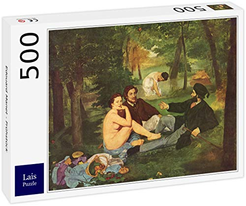 Lais Puzzle Edouard Manet - Colazione 500 Pezzi
