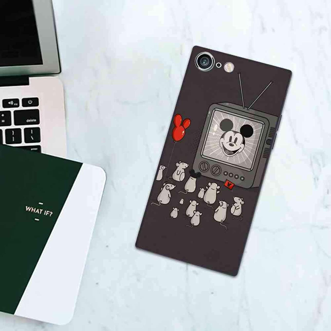 DISNEY COLLECTION Fits for Apple iPhone 6s Plus iPhone 6 Plus The mice are Watching Mickey Mouse on TV