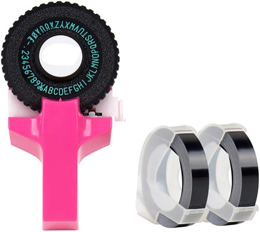 Embossed Label Machine Japan Maker New Mini 3D Cutt Free Shipping New Printer Portable DIY