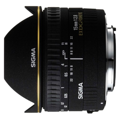 Sigma 15 mm/F 2,8 EX/FISHEYE -