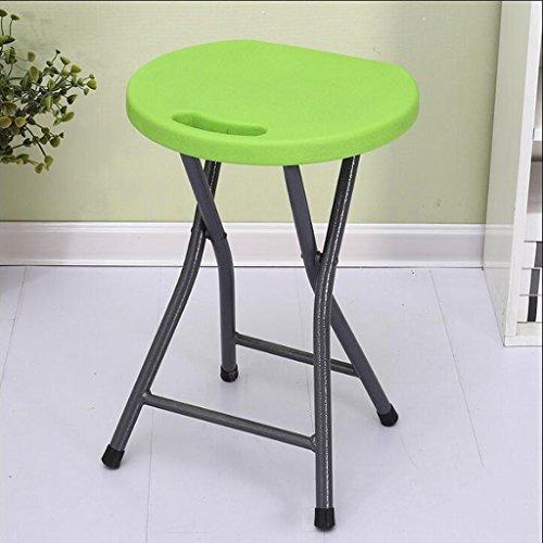Vouwstoel Plastic Vouwkruk Huishoudelijke Eettafel Volwassen Hoge Kruk Kleine Bank Stoel Eenvoudige Draagbare Dikker Creatieve Mode