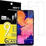 NEW'C 2 Unidades, Protector de Pantalla para Samsung Galaxy A10 (SM-A105F), M10, Antiarañazos,...