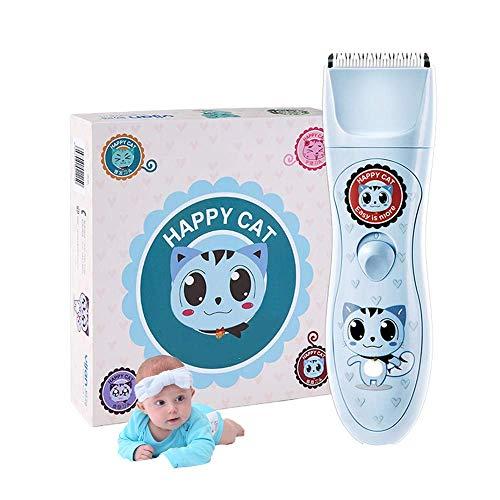 Tondeuses voor de Peuter Kids vrouwen en mannen, IPX7 Waterdicht/Rustig, Haircut kit set USB oplaadbare met 4 in 1 Blades, Gift Box