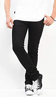 Nudie Jeans ヌーディージーンズ THIN FINN スキニー DRY EVER BLACK 112694