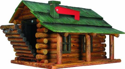 River's Edge Log Cabin Mailbox