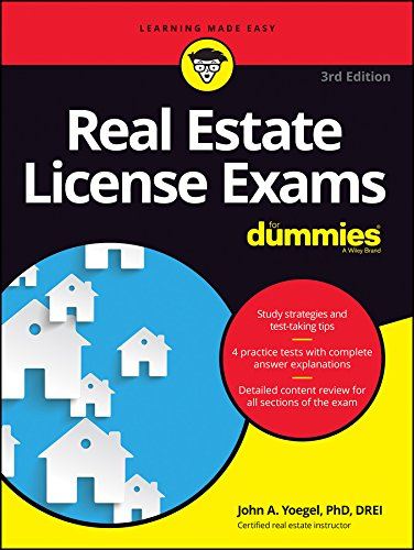 Real Estate Investing Books! - Real Estate License Exams For Dummies with Online Practice Tests