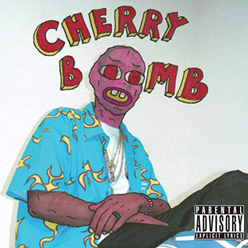 Youngpin Tyler The Creator Cherry Bomb Art Poster Print,Unframed 20x20 Inches