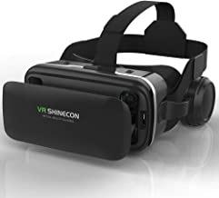 VR Headset,Virtual Reality Headset,VR SHINECON 3D Glasses for Movies, Video,Games - VirtuReality Glasses VR Goggles for iP...