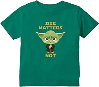 Funny Size Matters Not Toddler T-Shirt
