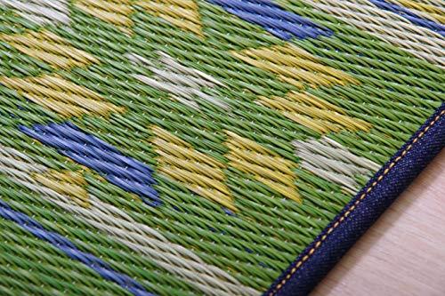 イケヒコ・コーポレーション【畳ヨガ】い草マットアースグリーン60×180cm日本製、YOGA/インテリアマット