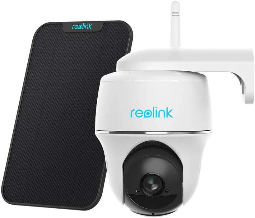 Reolink Cámara Vigilancia Exterior WiFi con Batería
