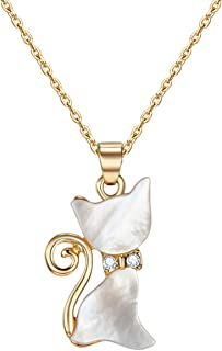 Mestige Women's Gold-Tone Plated Whiskers Pendant Necklace (MSNE3054)