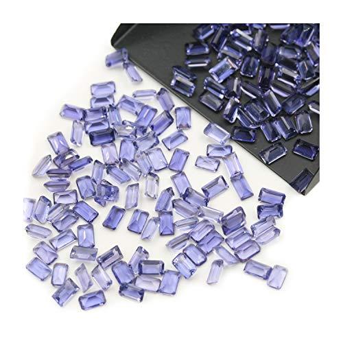 Natural Iolite Calidad AAA 9x7 mm Forma de la Octagon facetadas Cut Suelta la Piedra Preciosa, Natural Iolite Suelta la Piedra Preciosa para la joyería