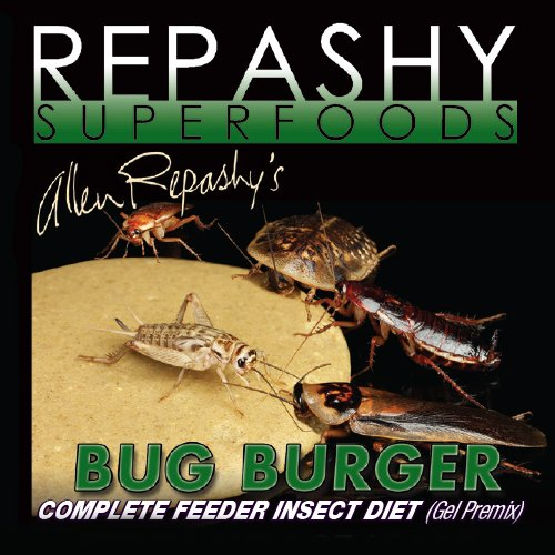 Repashy Bug Burger - Insektenfutter - Grillenfutter - Schabenfutter (340 g)