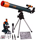 Levenhuk Kit Educativo LabZZ MT2 para Niños (Microscopio y Telescopio) – Kit de Ciencia con Todos los Accesorios