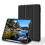 USGMoBi iPad Case Compatible with iPad Pro 11 inch& 12.9 inch(3rd & 4th Gen)/iPad 6th &7th Gen/iPad Mini 5th Gen/iPad Air 3rd Gen-Black