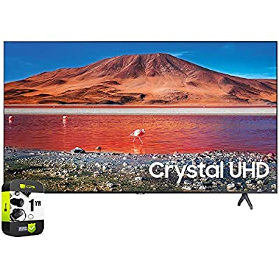 SAMSUNG 4K Ultra HD Smart LED TV 2020 Model Bundle with Support Extension from Samsung