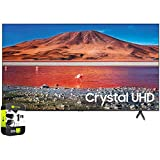 SAMSUNG UN70TU7000FXZA 70 inch 4K Ultra HD Smart LED TV 2020 Model Bundle with Support Extension