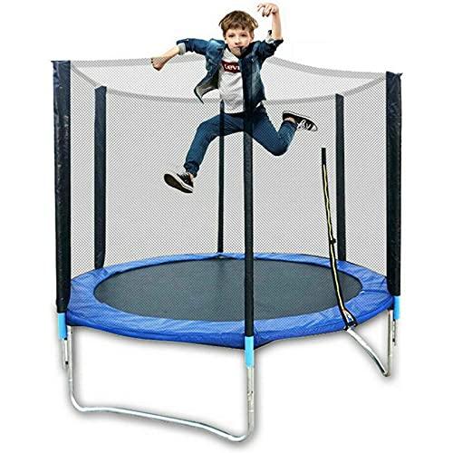 Trampolin Gartentrampolin Outdoor,Trampolin Kindertrampolin Kinder,Gartentrampolin Kindertrampolin Fitness Trampolin Outdoor Sicherheitsnetz 300kg (183cm/72