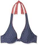 Esprit Bodywear Orlando Beach High Apex Bikini, Azul (Navy), 38B (Talla del Fabricante: 38 B) para Mujer
