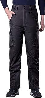 FREE SOLDIER Outdoor Men's Waterproof Insulated Snow Ski Hiking Pants Skiing Snowboarding Cargo Pants