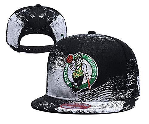 Basketball Embroidered Snapback Sports Hat Fashion Cap for Mens Women Teens Child Boston Celtics(2)