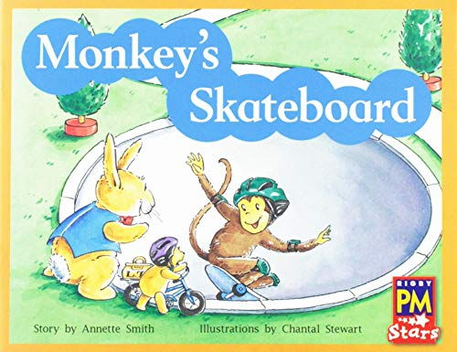 Rigby PM Stars: Individual Student Edition Yellow (Levels 6-8) Monkey's Skateboard