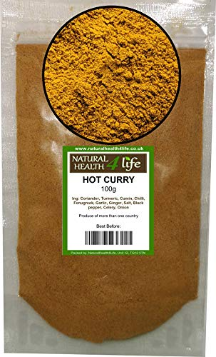 Hot Curry Spice Blend 100g