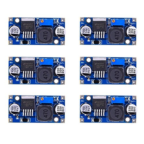 OUNONA LM2596 abaissent le module 3.0-40V à 1.5-35V convertisseur d'alimentation d'énergie mâle 6PCS
