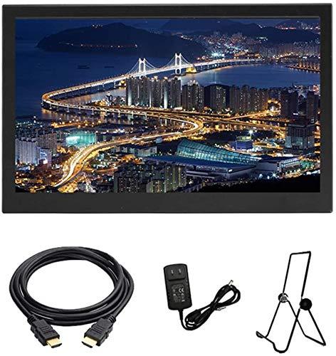 Draagbare monitoren, draagbare IPS-monitor Full HD-scherm 1920 x 1080 Monitor Draagbare Ultra dunne Dual HDMI Port Speaker ingebouwd, Display Gaming Monitor PC-monitoren voor Xbox, voor schakelaar, voor PS4 Weergave van 13,3 inch
