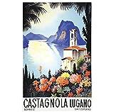 DrCor Schweiz Schweizer Tessin Tourismus Poster Leinwand