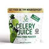 100% Celery Whole Food – Our 5 Lbs Celery Juice Powder is Made from one Ingredient only i.e. Celery Juice. Plant-Based, Non-GMO, Gluten-Free Naturally Powerful Whole Vegetable Powder