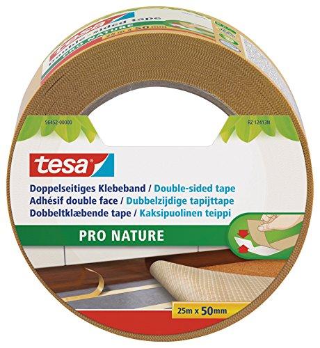 tesa doppelseitiges Verlegeband, ökologisch, 25m x 50mm