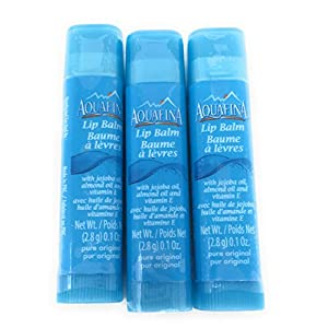 Aquafina Lip Balm - 3 Tubes